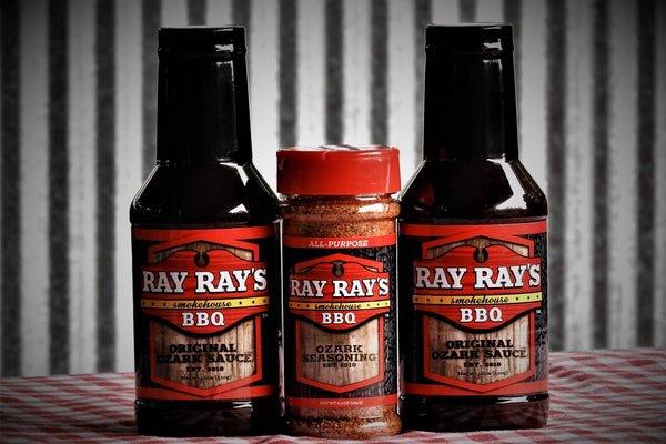 Ray Ray's BBQ™ (2) Sauce and (1) Seasoning - ray-rays-bbq