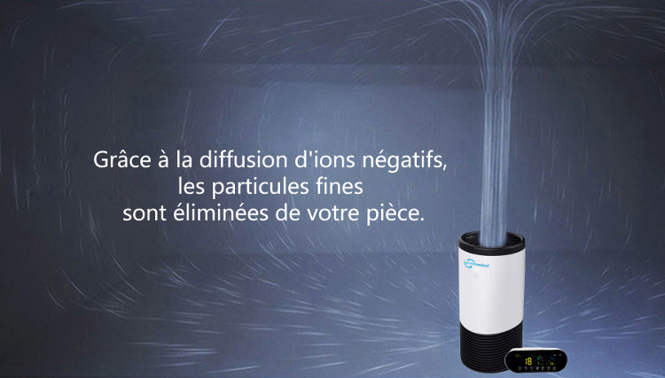 Purificateur d'air ioniseur