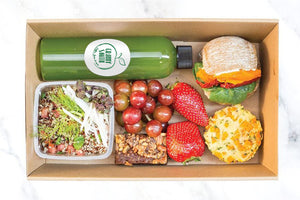 Granny´s green lunch box