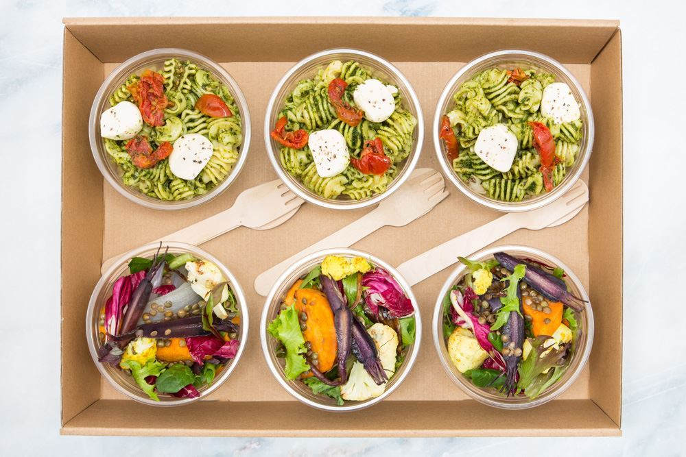 Mediterranean salad collection