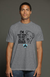 Pet the dogs t