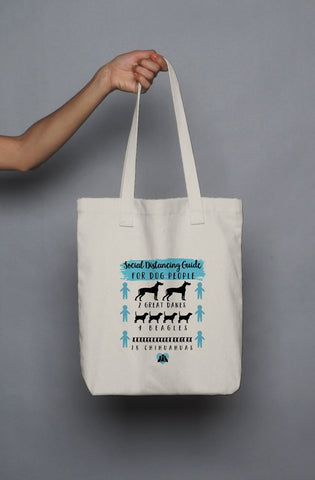 Social Distancing for Dog People - Tote