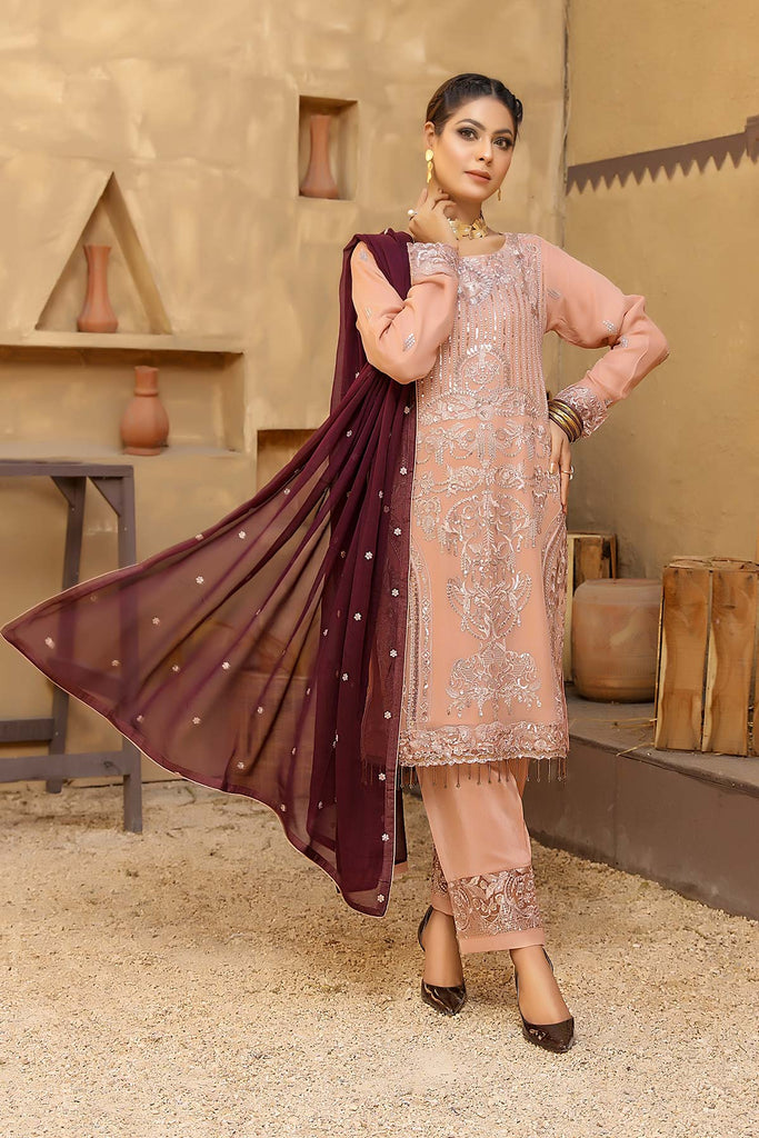 Anmol Luxury Chiffon - Looms D:012