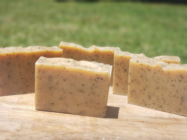 Goat Milk Lavender and Lemongrass Soothing Soap