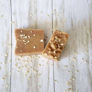 Goat Milk, Colloidal Oatmeal, and Honey Soap