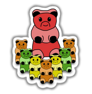 Gummy Bear Choir Sticker