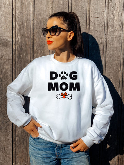 DOG MOM - PREMIUM SWEATSHIRT