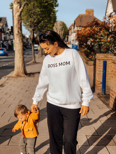 BOSS MOM - PREMIUM SWEATSHIRT