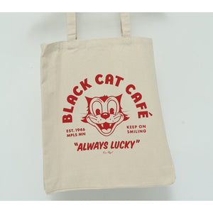 Black Cat Cafe Totebag