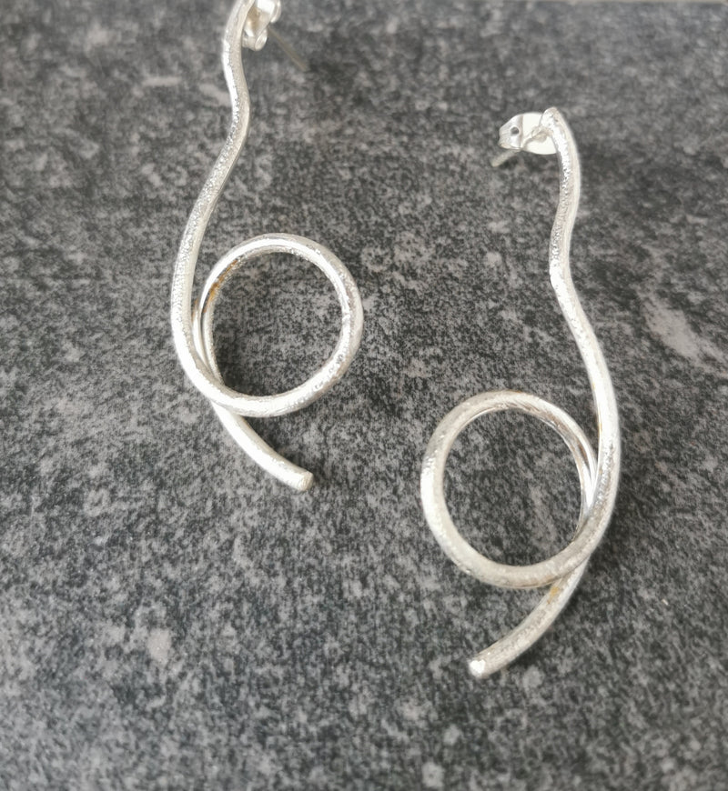 Extended Loop Earrings