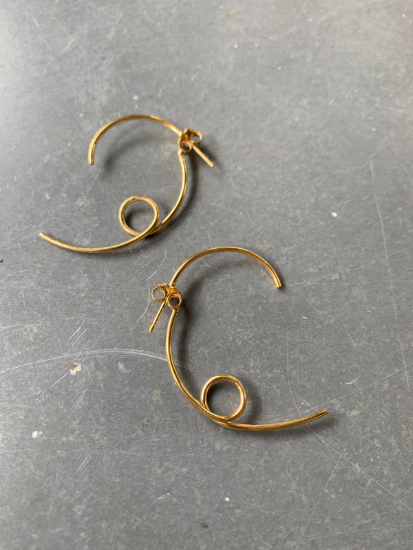 Three Earrings