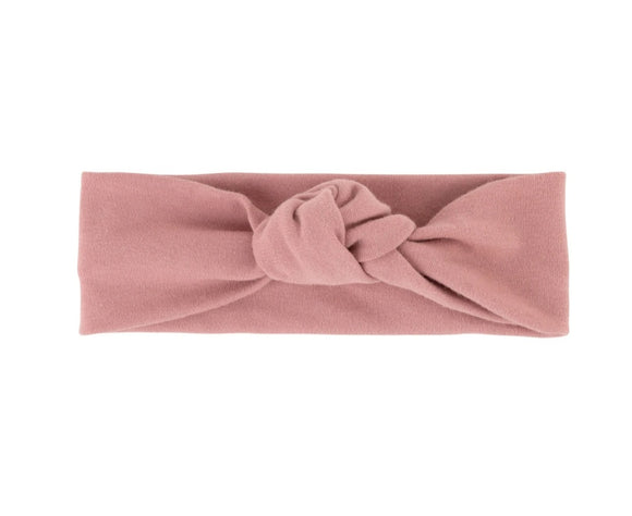 Ely's & Co Dusty Rose Knot Headband