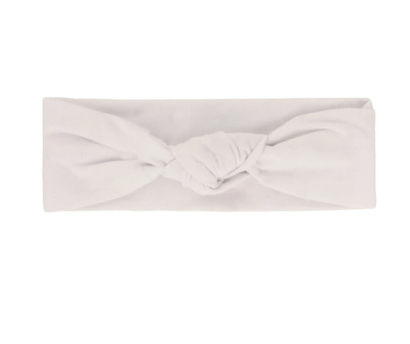 Ely's & Co Ivory Knot Headband