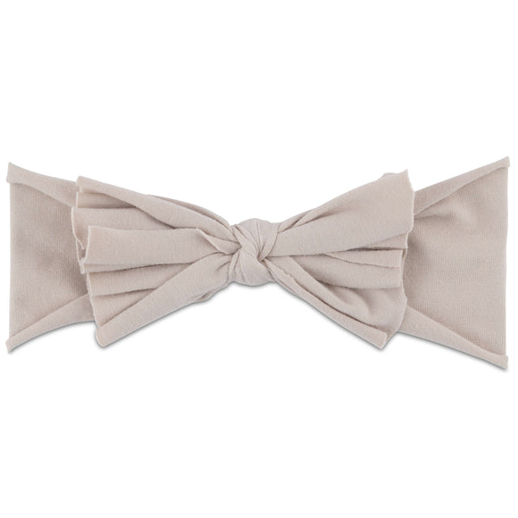 Ely's & Co Tan Bow Headband