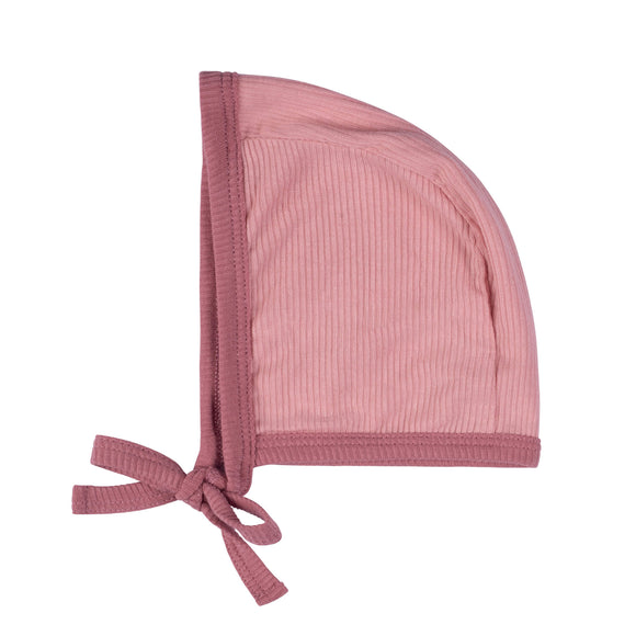 Cuddle and Coo Pink Two Tone Bonnet