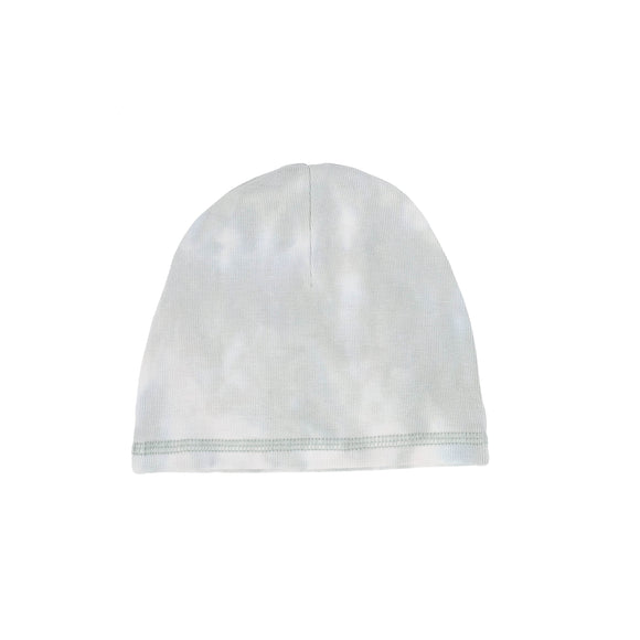 Lil Leggs Seafoam Watercolor Beanie