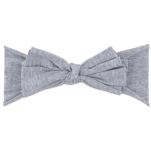 Ely's & Co Grey Bow Headband