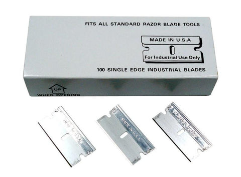 Single Edge Razor Blade PKT - No. 12 USA