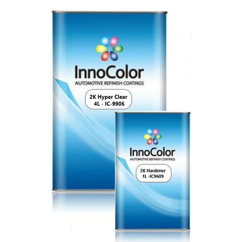 InnoColor 2K Clear Coat Hyper Fast (HS) - 5L Kit (4L+1L)