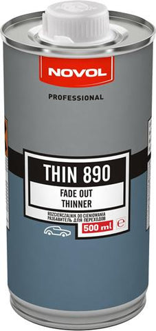 Novol Thin 890 - Fade Out Thinner - 500ml