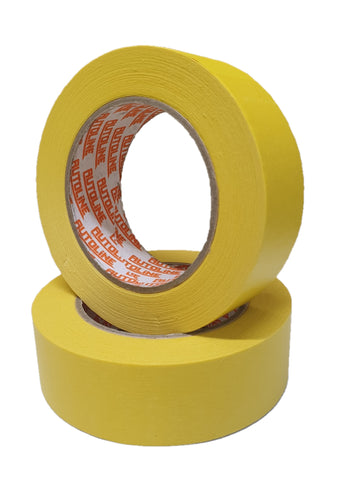 Autoline 36mm Yellow Masking Tape - SINGLE