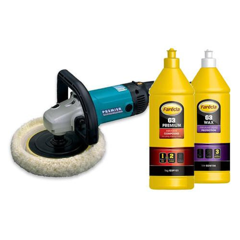 Christmas Polisher Deal - Includes Machine, Pads, Compound & Wax
