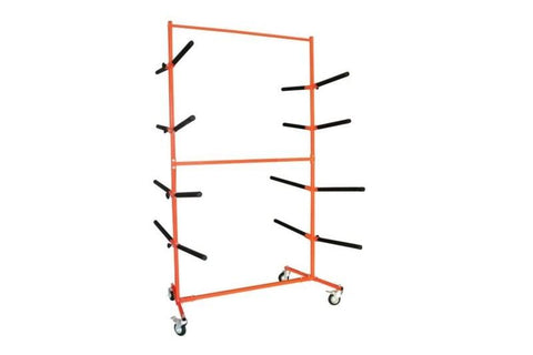 8 Bay Mobile Bumper Stand / Rack