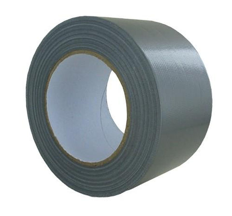 Heavy Duty Silver Cloth Tape - 48mm x 30m (Duct Tape)