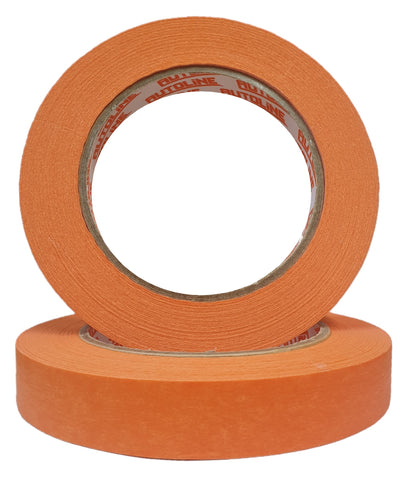 Autoline Orange 18mm Masking Tape - SINGLE
