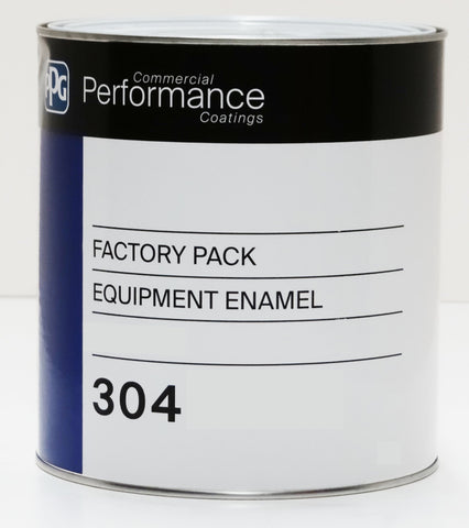 PPG Equipment Enamel Satin Black 4L