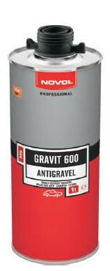 Novol Gravit 600 BLACK - Antigravel 1L