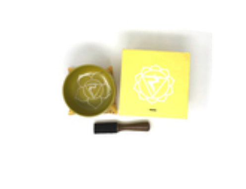 Solar Plexus Chakra Singing Bowl Set