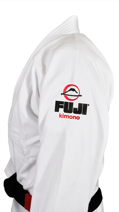Fuji sports All Around BJJ Gi beginner white side stitching logo