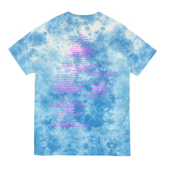 ANTHEMS CRYSTAL WASH BLUE TEE
