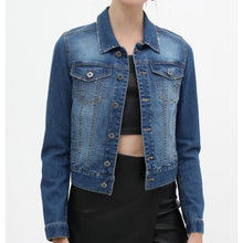 Load image into Gallery viewer, Denim Blue Jacket