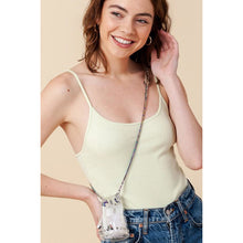 Load image into Gallery viewer, Scooped Neck Ribbed Cami Top (select colors)