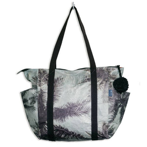 Wanderlust Zipper Tote Bag