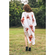 Load image into Gallery viewer, Floral Print Kimono (multiple colors)