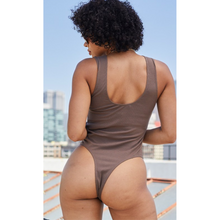 Load image into Gallery viewer, Mocha Lace Bodysuit