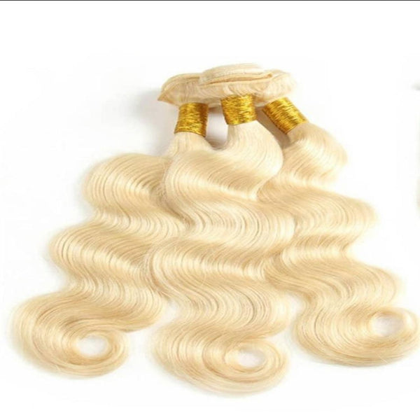Luxurious Pure Human Hair Body Wave Weave Extensions