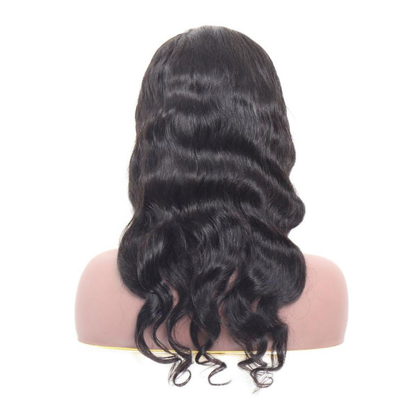 Luxurious frontal HD Transparent Lace Body Wave Wig