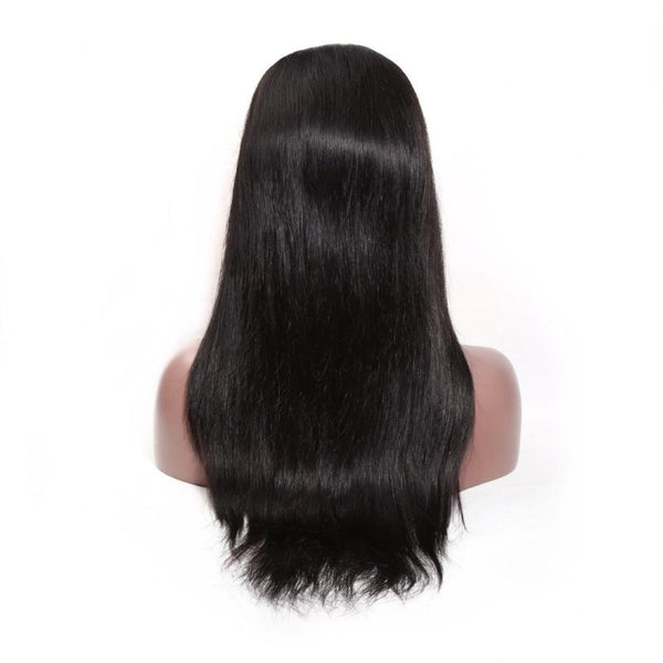 Luxurious Virgin Remy frontal Swiss Lace Silky Soft Straight Wig