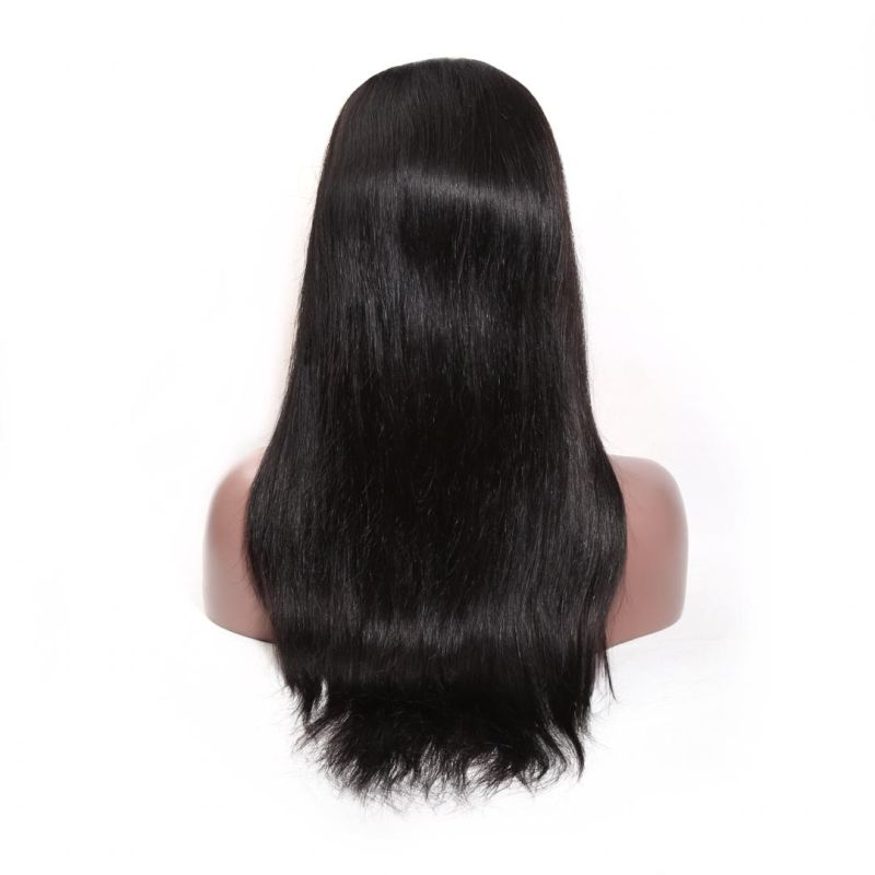 Luxurious Pure Human Hair Straight Hair Frontal lace wig