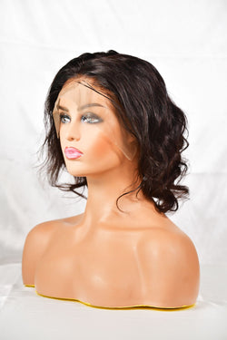 Luxurious Virgin Remy Loose Wave Custom Made Wig