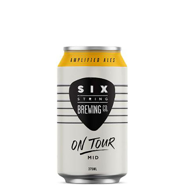 Six String On Tour Mid Cans 375ml