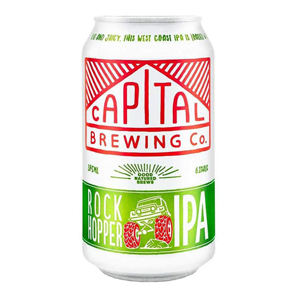 Capital Brewing Co. Rock Hopper IPA Cans 375ml