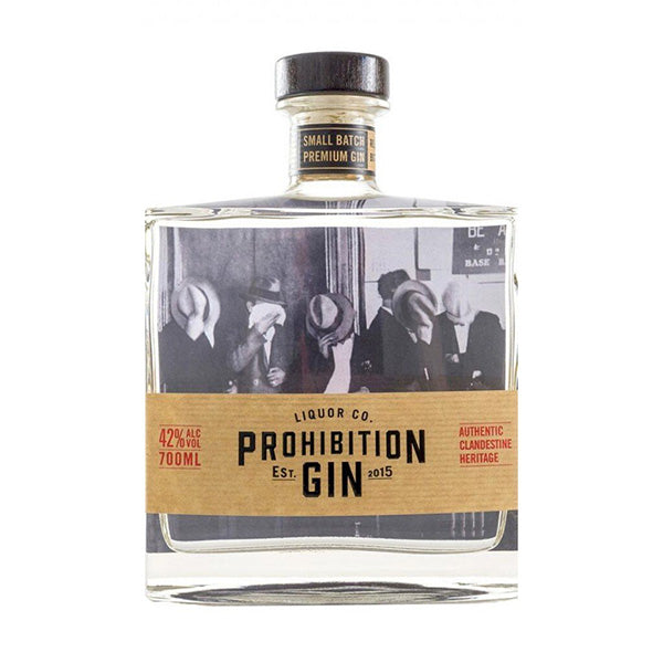 Prohibition Liquor Co Gin 700ml