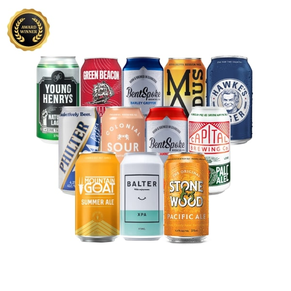 Award Winning Aussie Craft Beer Mixed - 12 Pack