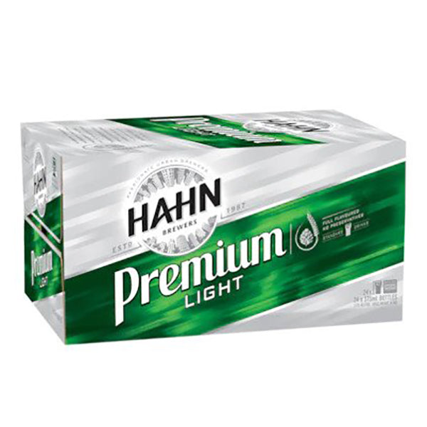 Hahn Premium Light Beer Cans 375ml - Pack of 24