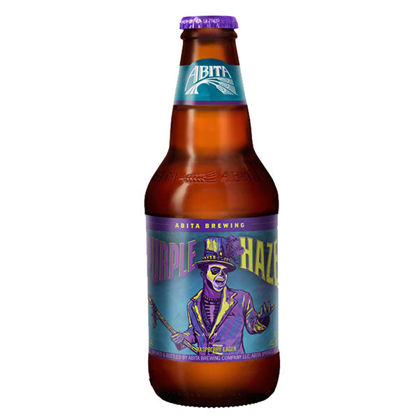 Abita Purple Haze Beer Bottles 355ml - Pack of 24